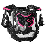 Fox Racing Women's R3 Roost Deflector Black/Pink