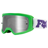 Fox Racing Youth Main II Line Goggle Multi Frame/Spark Chrome Mirror Lens