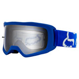 Fox Racing Youth Main II Race Goggle Blue