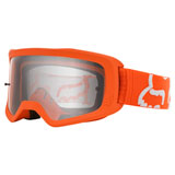 Fox Racing Youth Main II Race Goggle Fluorescent Orange