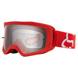 Fox Racing Youth Main II Race Goggle Red