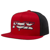 Fox Racing Youth Brake Free Snapback Hat Chili