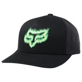 Fox Racing Youth Flame Head Snapback Hat