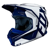 Fox Racing Youth V1 Prix Helmet Navy