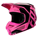 Fox Racing Youth V1 Prix Helmet Pink