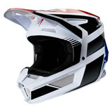 Fox Racing Youth V2 Hayl Helmet Blue/Red