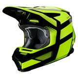 Fox Racing Youth V2 Hayl Helmet Fluorescent Yellow