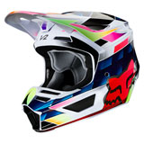 Fox Racing Youth V2 Kresa Helmet Multi