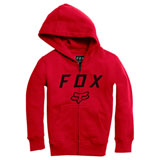 Fox Racing Youth Legacy Moth Zip-Up Hooded Sweatshirt
