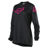 Fox Racing Girl's Youth 180 Prix Jersey Black/Pink
