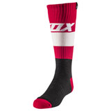 Fox Racing Youth MX Linc Socks Flame Red