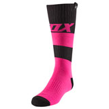 Fox Racing Girl's Youth MX Linc Socks Pink