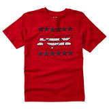 Fox Racing Youth Brake Free T-Shirt Chili