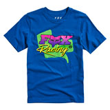 Fox Racing Youth Castr T-Shirt Royal Blue