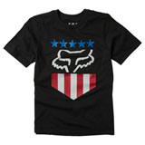 Fox Racing Youth Freedom Shield T-Shirt Black