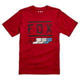 Fox Racing Youth Super Fox T-Shirt Cardinal