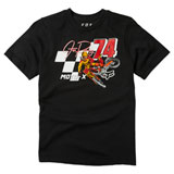 Fox Racing Youth Trackside T-Shirt Black