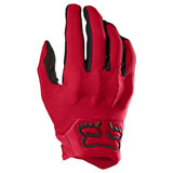 Fox Racing Bomber LT Gloves Flame Red/Black