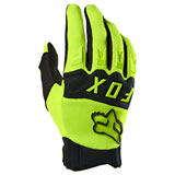 Fox Racing Dirtpaw Gloves Flo Yellow