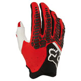 Fox Racing FAZR Pawtector Gloves Black/Red