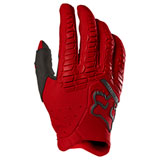 Fox Racing Pawtector Gloves Flame Red