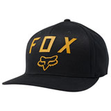 Fox Racing Number 2 Flex Fit Hat Black/Yellow