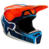 Fox Racing V3 Wired MIPS Helmet Flo Orange