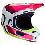 Fox Racing V1 Tro Helmet Flo Yellow