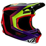 Fox Racing V2 Voke Helmet Dark Purple