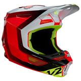 Fox Racing V2 Voke Helmet Flo Red