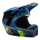 Fox Racing V3 RS Mawlr Helmet Dusty Blue