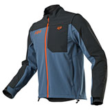 Fox Racing Legion Softshell Jacket Blue Steel