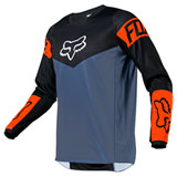 Fox Racing 180 Revn Jersey Blue Steel