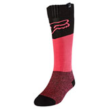 Fox Racing Women's Revn MX Socks Black/Pink