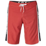 Fox Racing Race Team Stretch Board Shorts Rio Red