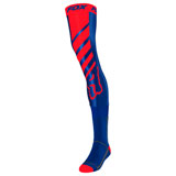 Fox Racing Mach One Knee Brace Socks Blue/Red