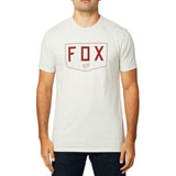 Fox Racing Shield Premium T-Shirt 19 Light Grey