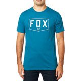 Fox Racing Shield Premium T-Shirt 19 Maui Blue