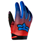 Fox Racing Youth 180 Oktiv Gloves Flo Red