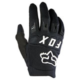Fox Racing Youth Dirtpaw Gloves Black/White