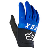 Fox Racing Youth Dirtpaw Gloves Blue