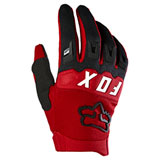 Fox Racing Youth Dirtpaw Gloves Flame Red