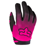 Fox Racing Girl's Youth 180 Oktiv Gloves Pink