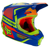 Fox Racing Youth V1 Oktiv Helmet Blue