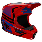Fox Racing Youth V1 Oktiv Helmet Flo Red
