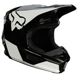 Fox Racing Youth V1 Revn Helmet Black/White
