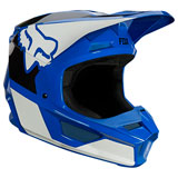 Fox Racing Youth V1 Revn Helmet Blue