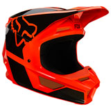 Fox Racing Youth V1 Revn Helmet Flo Orange