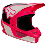 Fox Racing Youth V1 Revn Helmet Pink