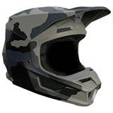 Fox Racing Youth V1 Trev Helmet Black Camo